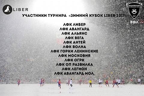 В Видном пройдёт футбольный турнир «Зимний кубок Liber 2017»