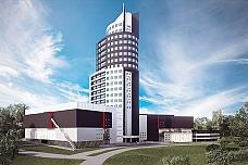 Многофункциональную башню-долгострой в Видном достроят к концу 2018 года