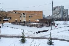 В Видном у кинотеатра «Искра» открылся бесплатный каток