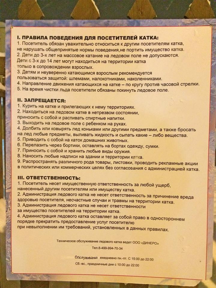В Видном у кинотеатра «Искра» открылся бесплатный каток фото 2
