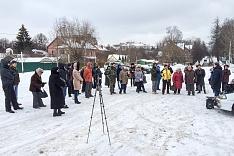 В Видном состоялся митинг против застройки Ленинского района. Видеозапись