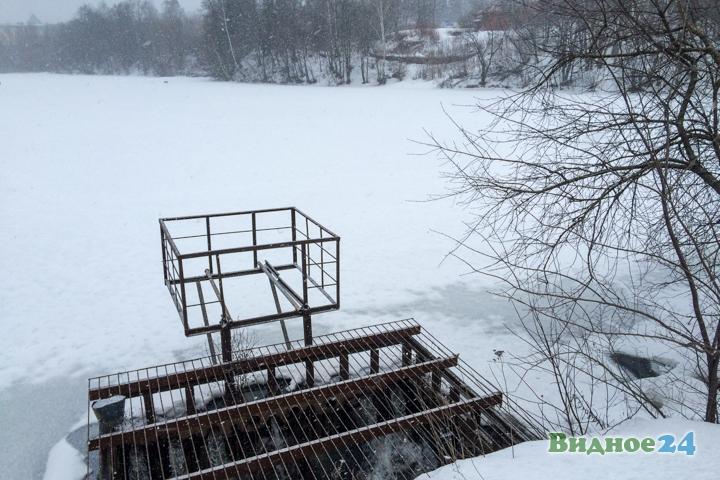 Таболовский пруд. 25 февраля 2017