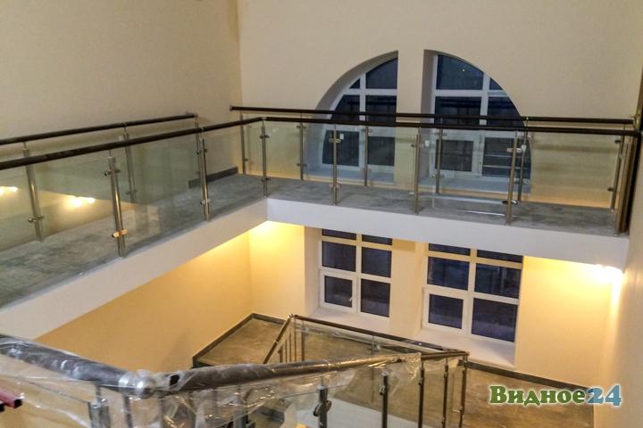 Меньше чем через месяц откроют реконструированный Дом культуры г. Видное. Фоторепортаж фото 47