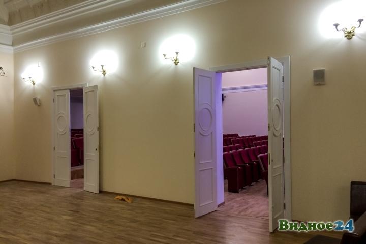 Меньше чем через месяц откроют реконструированный Дом культуры г. Видное. Фоторепортаж фото 23