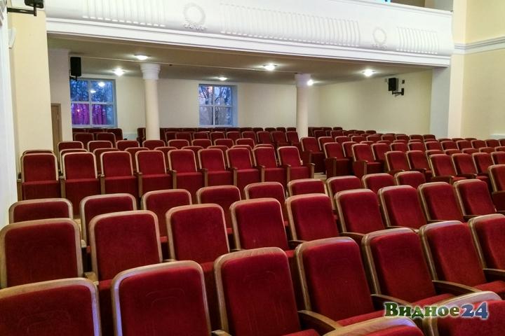 Меньше чем через месяц откроют реконструированный Дом культуры г. Видное. Фоторепортаж фото 24