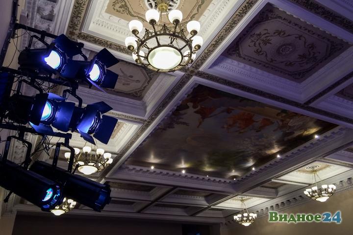 Меньше чем через месяц откроют реконструированный Дом культуры г. Видное. Фоторепортаж фото 29