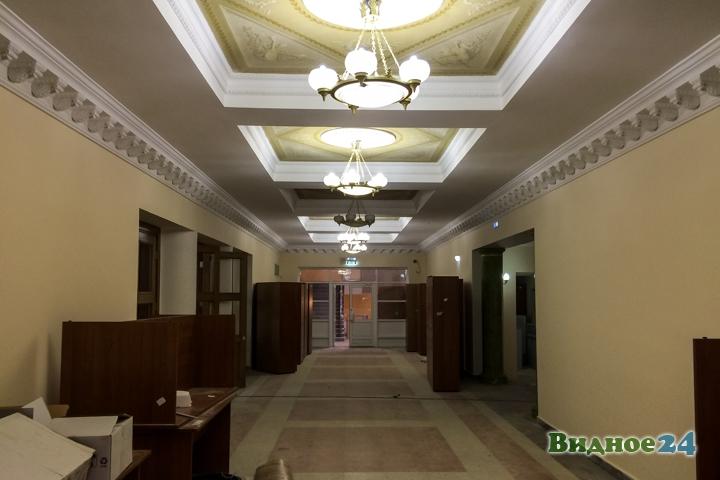 Меньше чем через месяц откроют реконструированный Дом культуры г. Видное. Фоторепортаж фото 8