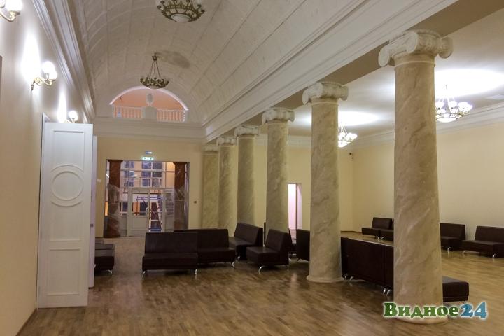 Меньше чем через месяц откроют реконструированный Дом культуры г. Видное. Фоторепортаж фото 39