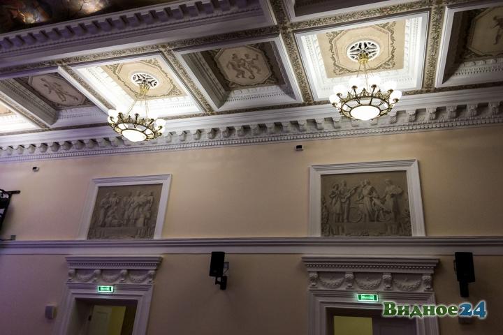 Меньше чем через месяц откроют реконструированный Дом культуры г. Видное. Фоторепортаж фото 38