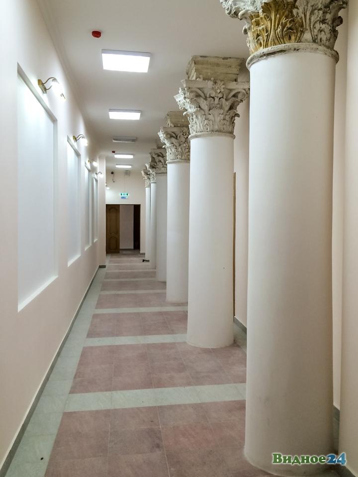 Меньше чем через месяц откроют реконструированный Дом культуры г. Видное. Фоторепортаж фото 42