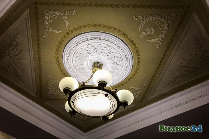 Меньше чем через месяц откроют реконструированный Дом культуры г. Видное. Фоторепортаж фото 9