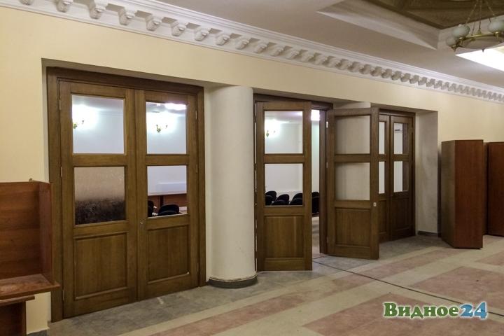 Меньше чем через месяц откроют реконструированный Дом культуры г. Видное. Фоторепортаж фото 10