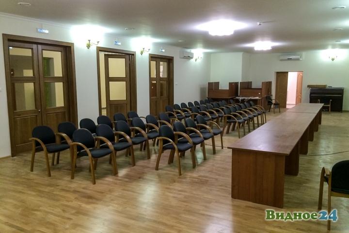 Меньше чем через месяц откроют реконструированный Дом культуры г. Видное. Фоторепортаж фото 13