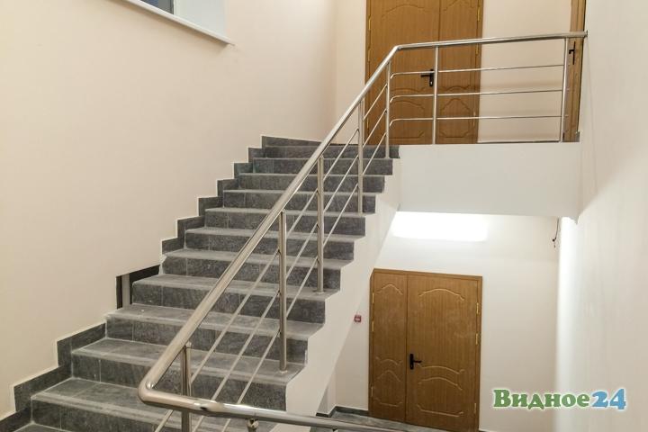 Меньше чем через месяц откроют реконструированный Дом культуры г. Видное. Фоторепортаж фото 49