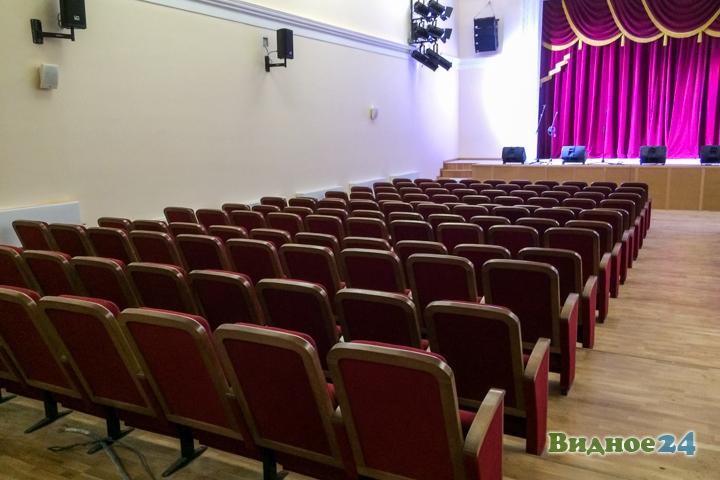 Меньше чем через месяц откроют реконструированный Дом культуры г. Видное. Фоторепортаж фото 33