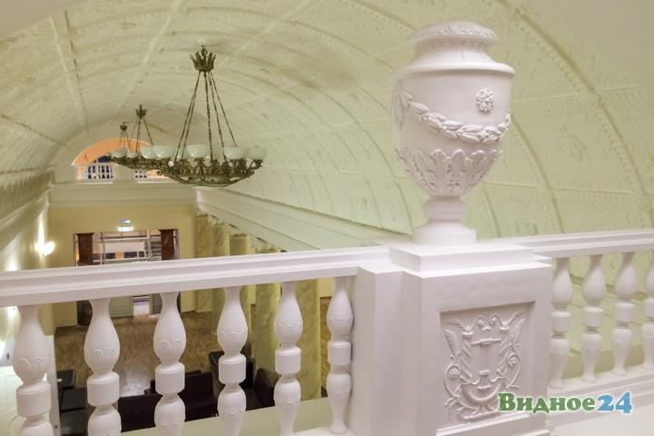 Меньше чем через месяц откроют реконструированный Дом культуры г. Видное. Фоторепортаж фото 45