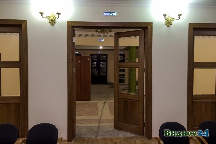 Меньше чем через месяц откроют реконструированный Дом культуры г. Видное. Фоторепортаж фото 12