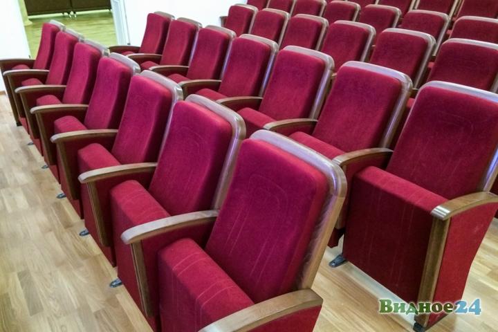 Меньше чем через месяц откроют реконструированный Дом культуры г. Видное. Фоторепортаж фото 31