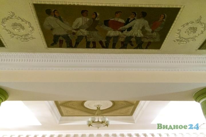 Меньше чем через месяц откроют реконструированный Дом культуры г. Видное. Фоторепортаж фото 7