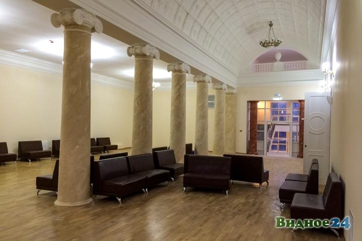 Меньше чем через месяц откроют реконструированный Дом культуры г. Видное. Фоторепортаж фото 22