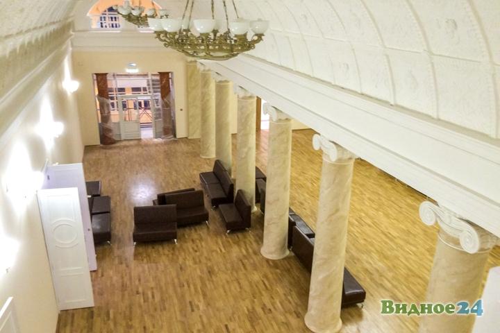 Меньше чем через месяц откроют реконструированный Дом культуры г. Видное. Фоторепортаж фото 46