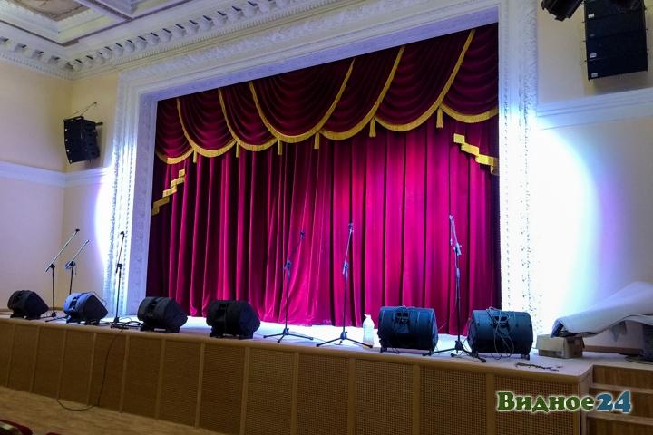 Меньше чем через месяц откроют реконструированный Дом культуры г. Видное. Фоторепортаж фото 25