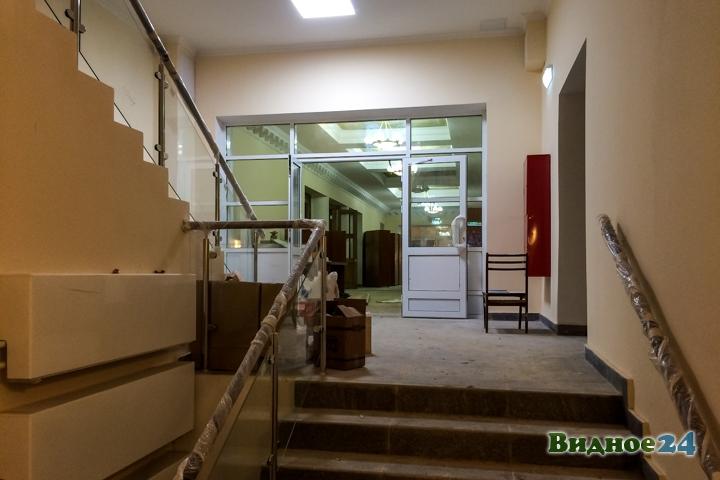 Меньше чем через месяц откроют реконструированный Дом культуры г. Видное. Фоторепортаж фото 18