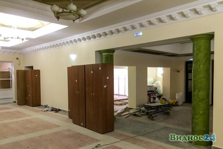 Меньше чем через месяц откроют реконструированный Дом культуры г. Видное. Фоторепортаж фото 14