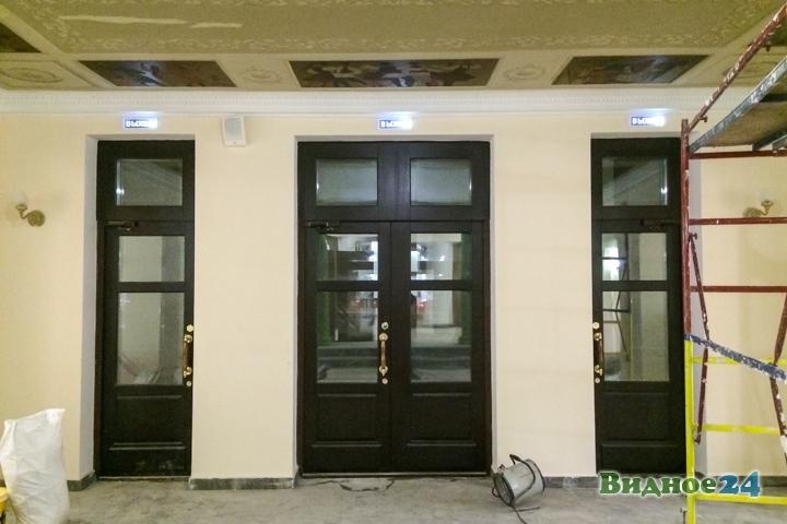 Меньше чем через месяц откроют реконструированный Дом культуры г. Видное. Фоторепортаж фото 4