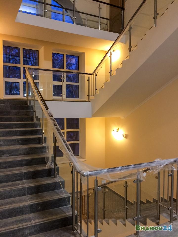 Меньше чем через месяц откроют реконструированный Дом культуры г. Видное. Фоторепортаж фото 43