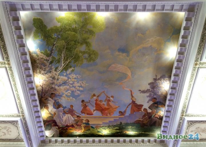 Меньше чем через месяц откроют реконструированный Дом культуры г. Видное. Фоторепортаж фото 37