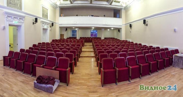 Меньше чем через месяц откроют реконструированный Дом культуры г. Видное. Фоторепортаж фото 28