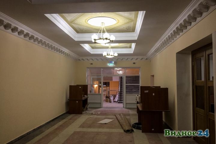 Меньше чем через месяц откроют реконструированный Дом культуры г. Видное. Фоторепортаж фото 15