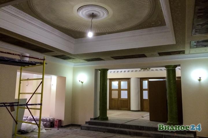 Меньше чем через месяц откроют реконструированный Дом культуры г. Видное. Фоторепортаж фото 5
