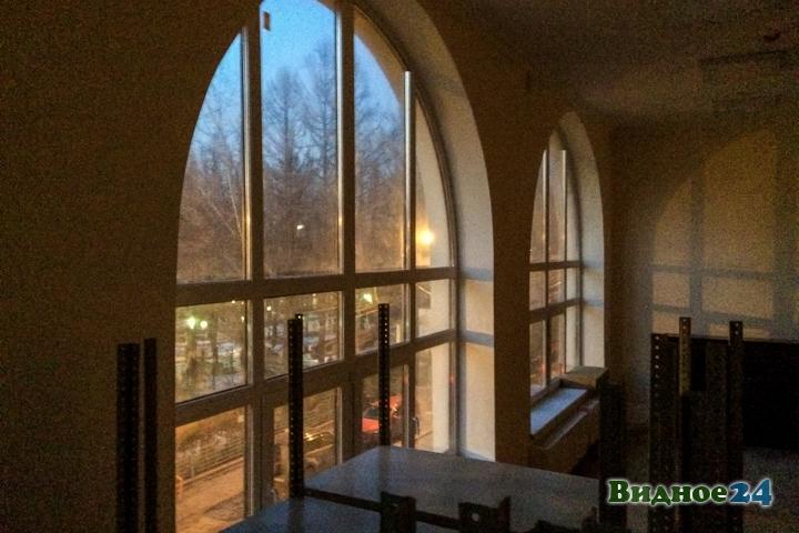 Меньше чем через месяц откроют реконструированный Дом культуры г. Видное. Фоторепортаж фото 50