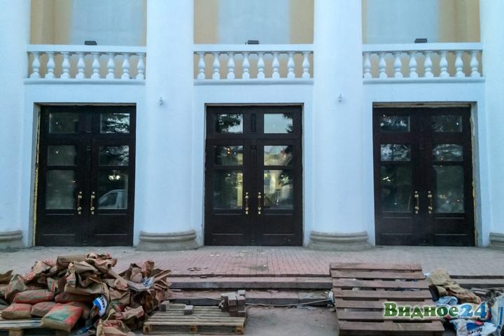 Меньше чем через месяц откроют реконструированный Дом культуры г. Видное. Фоторепортаж фото 3