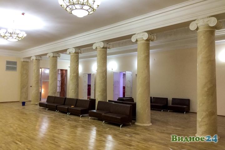 Меньше чем через месяц откроют реконструированный Дом культуры г. Видное. Фоторепортаж фото 40