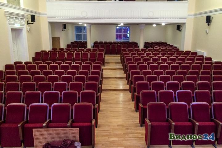 Меньше чем через месяц откроют реконструированный Дом культуры г. Видное. Фоторепортаж фото 27