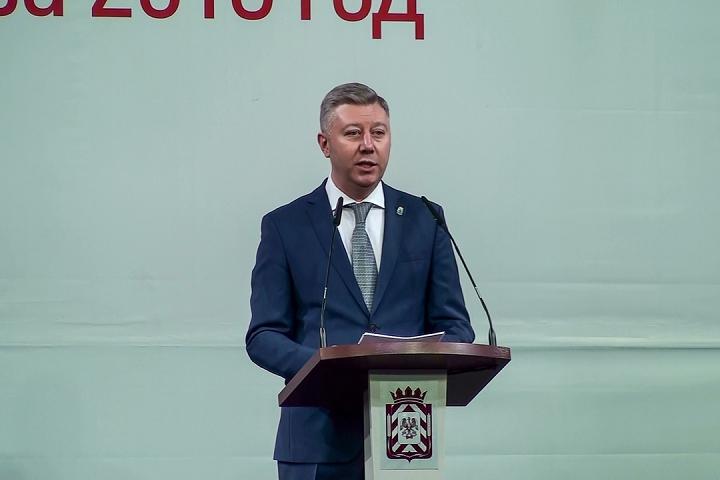 Состоялся отчет администрации Ленинского района по итогам работы за 2016 год. Видеозапись
