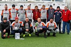Первый «Кубок Liber» завоевала любительская футбольная команда «Антей»