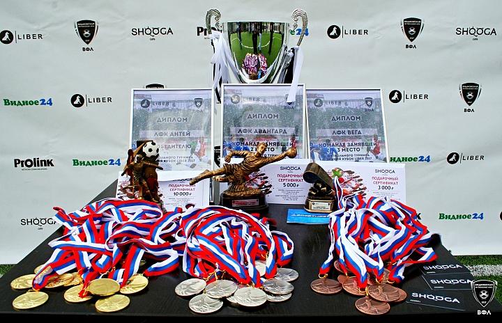 Первый «Кубок Liber» завоевала любительская футбольная команда «Антей» фото 2