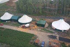 Проблема незаконных неработающих очистных сооружений  ЖК «Эко Видное» и «Видный берег» не решается