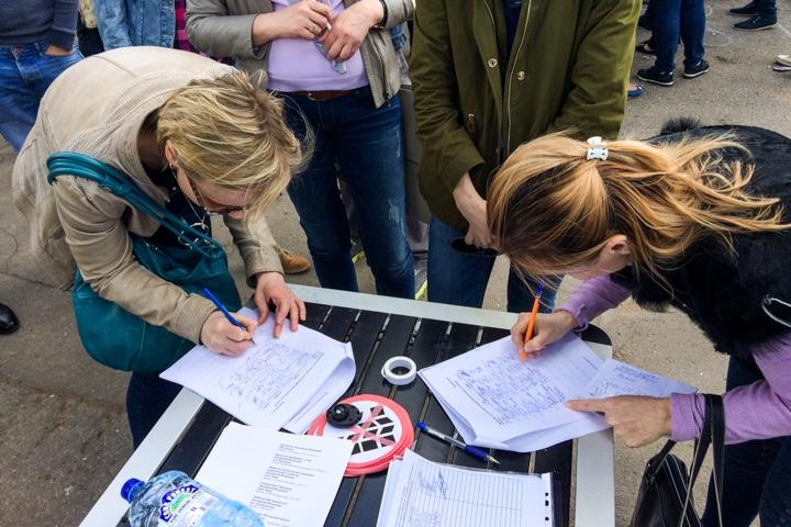 В Видном состоялся митинг обманутых дольщиков ЖК «Булатниково». Видеозапись фото 4