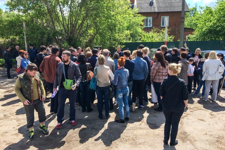 В Видном состоялся митинг обманутых дольщиков ЖК «Булатниково». Видеозапись фото 6