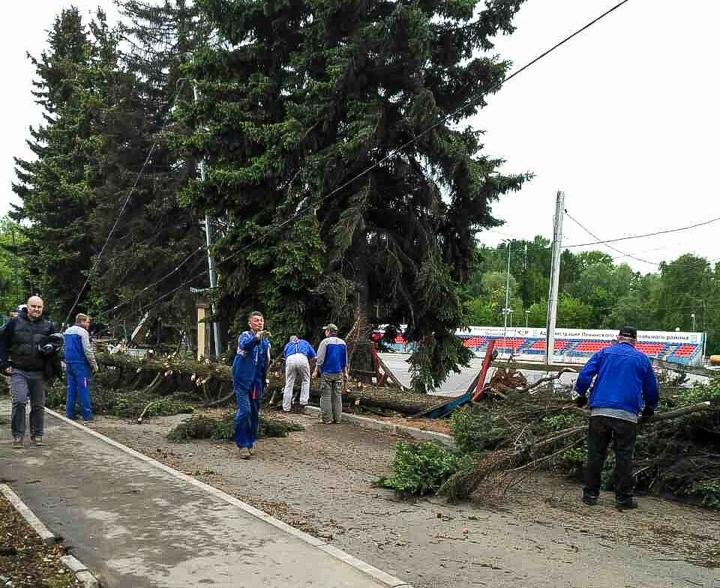 Последствия урагана в Видном и Ленинском районе. Фоторепортаж фото 6