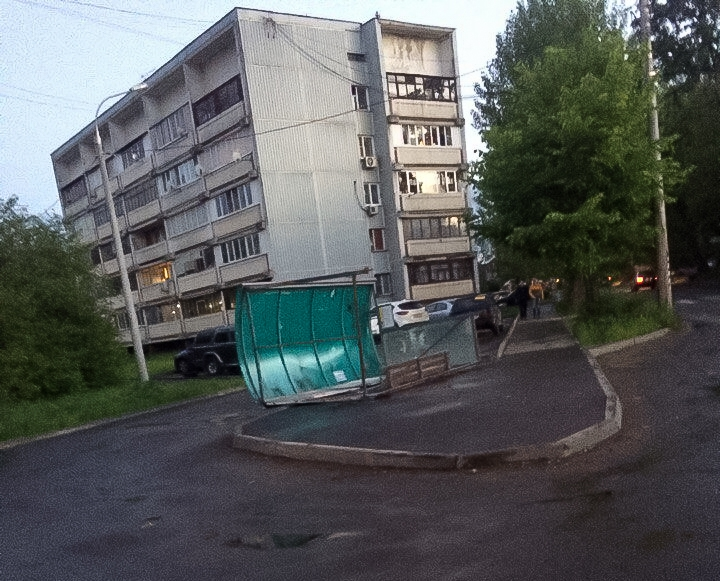Последствия урагана в Видном и Ленинском районе. Фоторепортаж фото 8