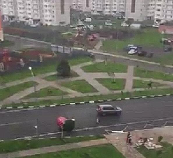 Последствия урагана в Видном и Ленинском районе. Фоторепортаж фото 9