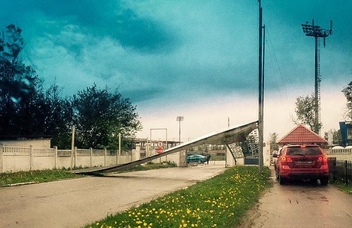 Последствия урагана в Видном и Ленинском районе. Фоторепортаж фото 2