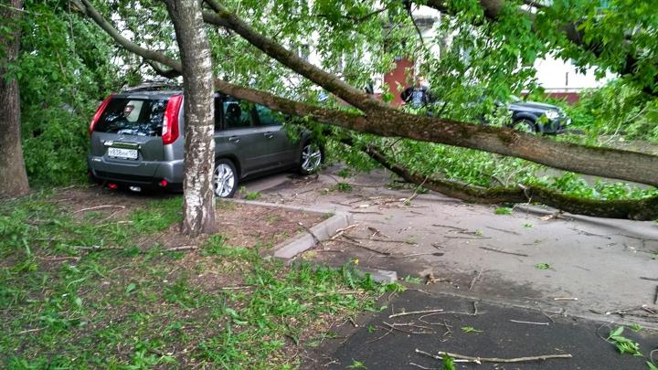 Последствия урагана в Видном и Ленинском районе. Фоторепортаж фото 26