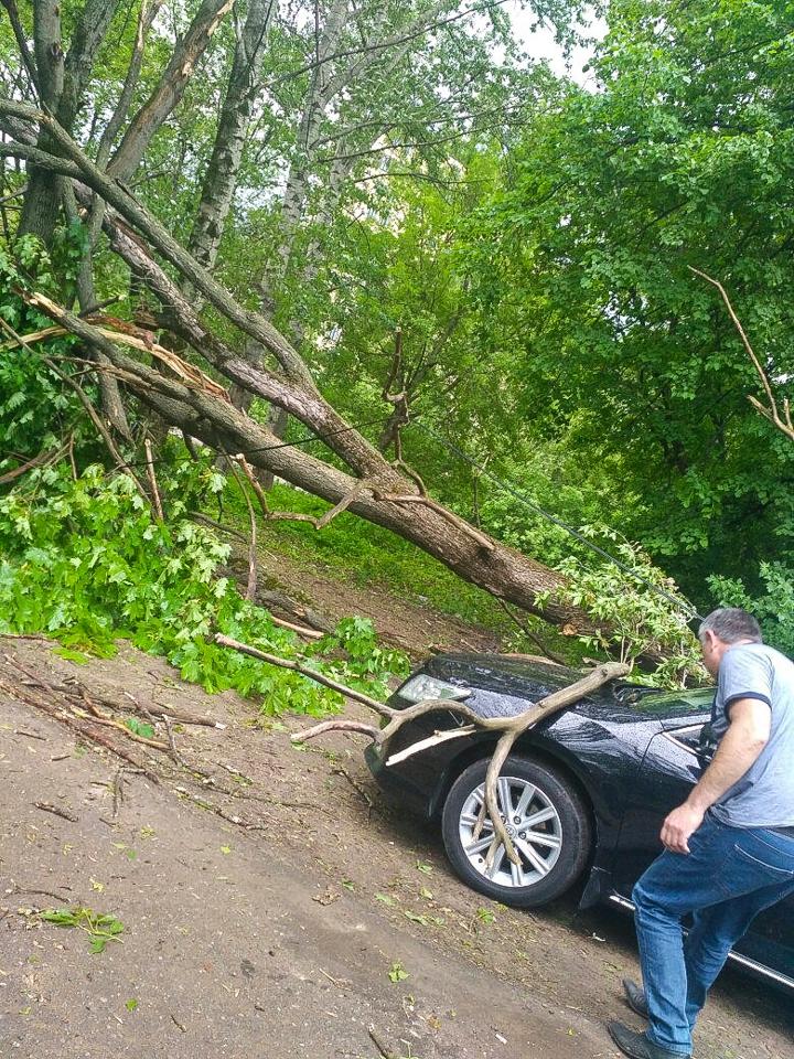 Последствия урагана в Видном и Ленинском районе. Фоторепортаж фото 22